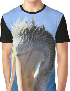 Pelican Eating Graphic T-Shirt