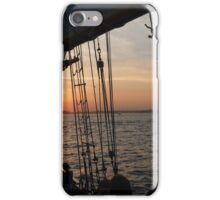 Sunset, Ships, and Liberty iPhone Case/Skin