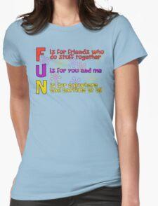 F.U.N Song (Spongebob Version) - Spongebob Womens Fitted T-Shirt