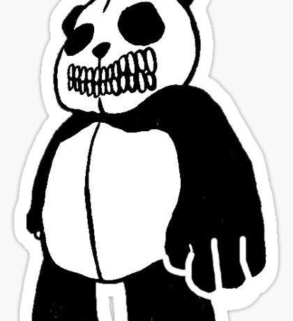 Skull Panda Sticker