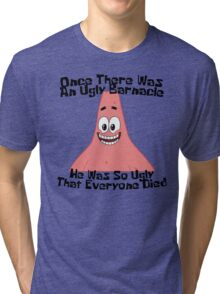 The Ugly Barnacle - Spongebob Tri-blend T-Shirt