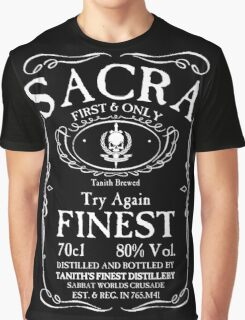 Try Again Finest Sacra Graphic T-Shirt