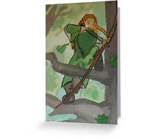 Young Legolas Greeting Card