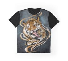 Mother and son - Tigers Graphic T-Shirt