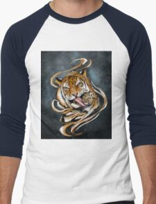 Mother and son - Tigers Men's Baseball ¾ T-Shirt