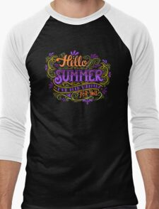 Hello summer. I have been waiting for you.  Men's Baseball ¾ T-Shirt
