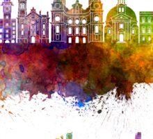Innsbruck skyline in watercolor Sticker