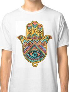 Rainbow Hamsa Hand Classic T-Shirt