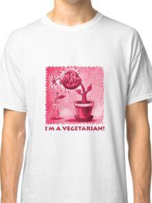 vegetarian plant red Classic T-Shirt
