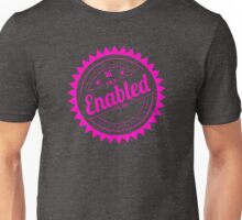 Enabled Pink Unisex T-Shirt