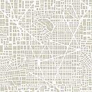 Seamless map  city plan by Alexzel