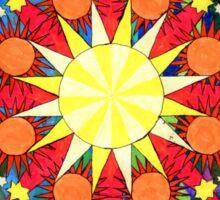 Dreams of Sunshine by Julia Delia Sticker