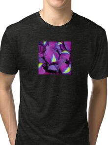 Purple Irises Tri-blend T-Shirt