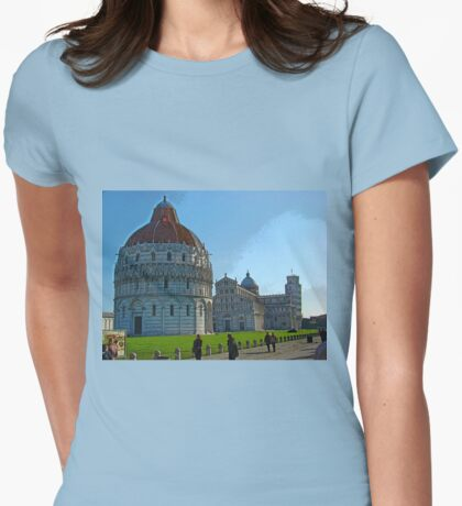 Square Of Miracles, Pisa, Italy Womens Fitted T-Shirt