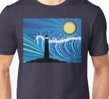 Lighthouse in the Sea 2 Unisex T-Shirt