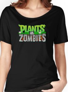 Plants Vs Zombies Women's Relaxed Fit T-Shirt
