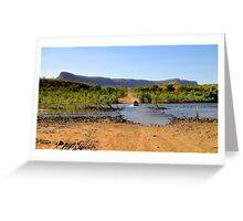 Pentecost River Crossing - Kimberley, Western Australia Greeting Card