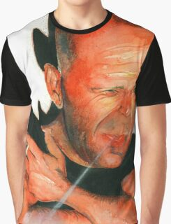 Bruce Willis Graphic T-Shirt