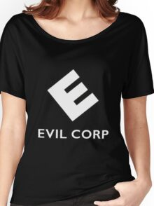 EVIL CORP Women's Relaxed Fit T-Shirt