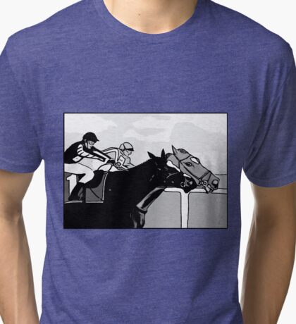 At the Races Tri-blend T-Shirt