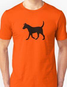 Dog (Black) Unisex T-Shirt