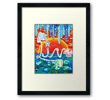 Live by Julia Delia Framed Print
