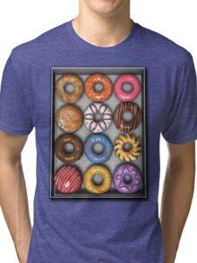 Box of Doughnuts Tri-blend T-Shirt