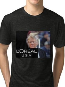 Donald Trump Toupet Tri-blend T-Shirt
