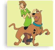 scooby doo Canvas Print