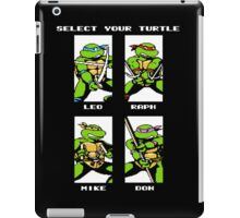 Select your turtle TMNT iPad Case/Skin