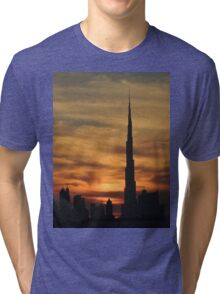 Dubai skyscrapers Tri-blend T-Shirt