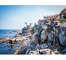 Naksansa - A Temple by the Sea Photographic Print