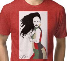 Mosaic Dress Tri-blend T-Shirt