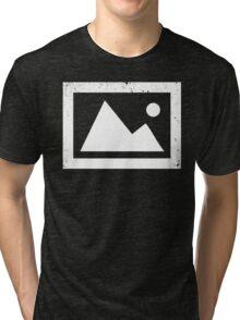 Landscape Photo Icon - Landscape Photography - Landscape Photographer Tri-blend T-Shirt