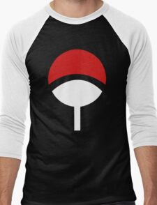Uchiha Clans Men's Baseball ¾ T-Shirt