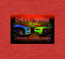 Challenger vs Camaro Under the Big Tent Tri-blend T-Shirt