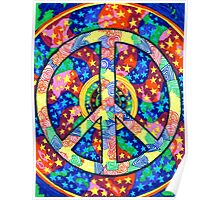 Peace of Our Universe by Julia Delia Poster