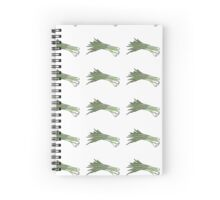 Green onions Spiral Notebook