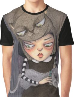 Crazy Cat Lady Graphic T-Shirt
