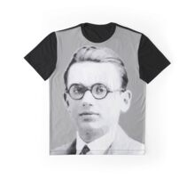 Portrait of Kurt Gödel black & White 1925 Graphic T-shirt Graphic T-Shirt