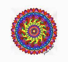 Unity Mandala by Julia Delia Unisex T-Shirt