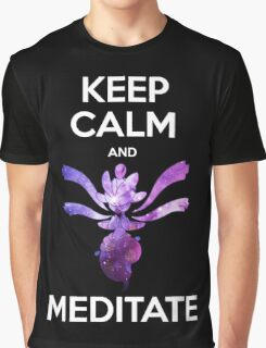 Keep Calm and Medicham! Graphic T-Shirt