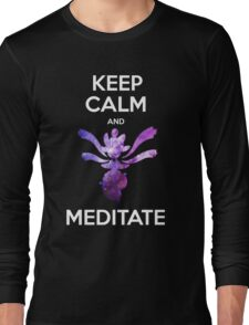 Keep Calm and Medicham! Long Sleeve T-Shirt