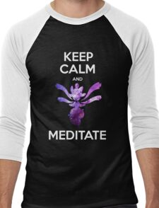 Keep Calm and Medicham! Men's Baseball ¾ T-Shirt