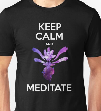 Keep Calm and Medicham! Unisex T-Shirt