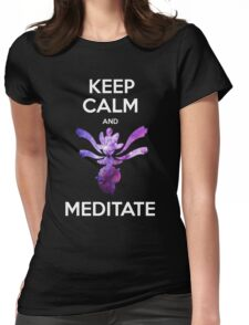 Keep Calm and Medicham! Womens Fitted T-Shirt