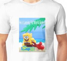 Lego Sponge Bob Poster Unisex T-Shirt