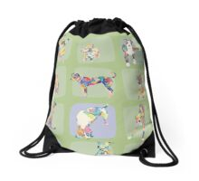 Dogs of New York Drawstring Bag