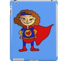 Superhero Girl iPad Case/Skin