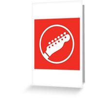Headstock Rock - Rhythm Greeting Card